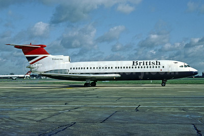 British Airways Hawker Siddeley HS.121 Trident 2E G-AVFO (msn 2156) LHR (Richard Vandervord). Image: 912992.