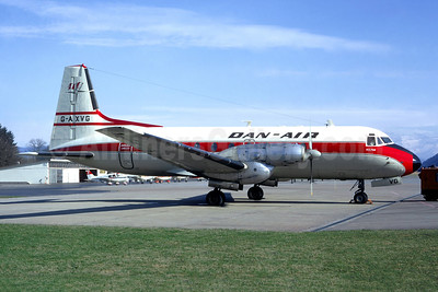 Dan-Air Services Hawker Siddeley HS.748-226 Series 2 G-AXVG (msn 1589) BRN (Jacques Guillem Collection). Image: 942510.