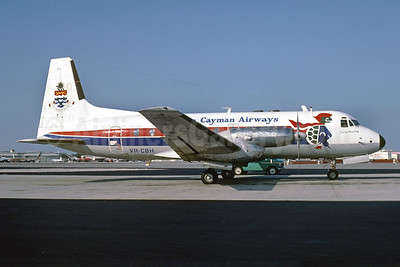 Cayman Airways Hawker Siddeley HS.748 Series 1 VR-CBH (msn 1557) MIA (Bruce Drum). Image: 102653.