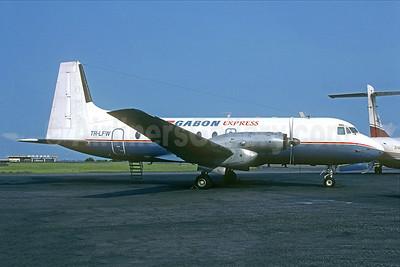 Gabon Express Hawker Siddeley HS.748-232 Mk. 2 TR-LFW (msn 1611) LBV (Jacques Guillem). Image: 945461.