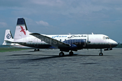Aero Lanka Hawker Siddeley HS.748-426 Series 2B 4R-SER (msn 1799) RML (Richard Vandervord). Image: 902513.