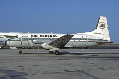 Air Sénégal (1st)  Hawker-Siddeley HS.748-263 Series 2A 6V-AET (msn 1676) DKR (Jacques Guillem). Image: 952353.