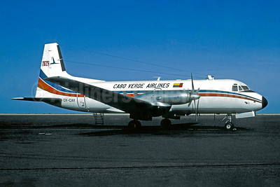 Cabo Verde Airlines-TACV Hawker Siddeley HS.748-278 Series 2A CR-CAV (msn 1719) (Christian Volpati Collection). Image: 947899.
