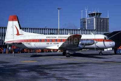 Eastern Provincial Airways (EPA)-Air St. Pierre Hawker Siddeley HS.748-232 Series 2A C-FINE (msn 1611) YHZ (Steve Bailey). Image: 922788.