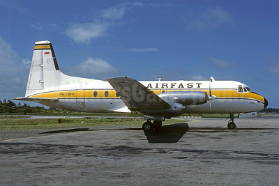 Flight to Selaparang, diverted due to bad weather on January 25, 1990, struck Mount Rinjani, 19 killed.