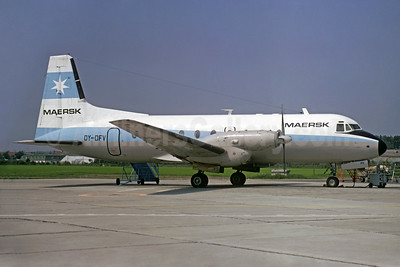 Maersk Air (Denmark) Hawker Siddeley HS.748-200 Series 2 OY-DFV (msn 1535) (Christian Volpati Collection). Image: 932686.