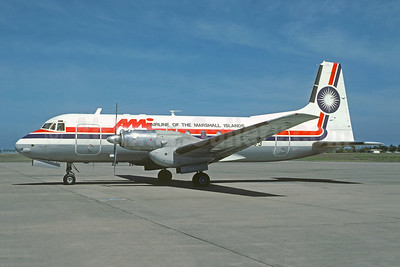 Airline of the Marshall Islands Hawker Siddeley HS.748-400 Series 2B MI-8203 (msn 1796) AKL (Christian Volpati Collection). Image: 951895.