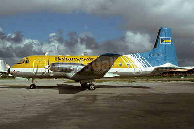 Bahamasair Hawker Siddeley HS.748 Series 2A-344 C6-BEF (msn 1765) MIA (Bruce Drum). Image: 102679.