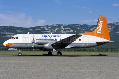 Air North-Yukon's Airline (Canada) Hawker Siddeley HS.748 Series 2A-276 C-FAGI (msn 1699) YXY (Jacques Guillem Collection). Image: 912513.