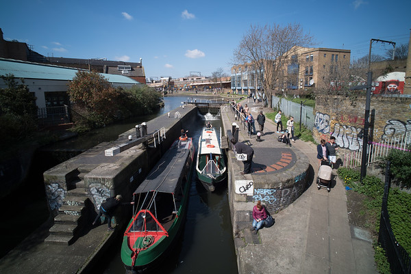 2015 - April - 'Kentish Town Lock'