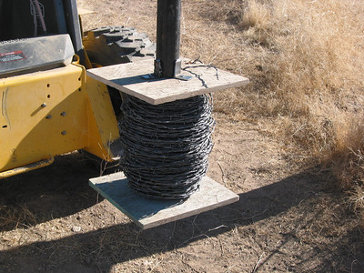 Barb Wire Spools