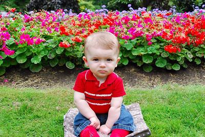 11, Aug 7-15th:  Hayden is 6 months old!