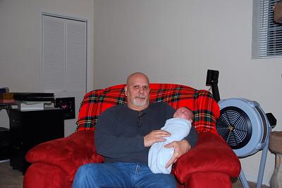 Grandpa Lemke and Hayden