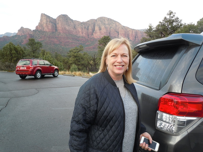 We reach Sedona, AZ after about a day and half driving from home.  Ironically, it rains our first day in the desert.