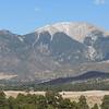 The Sangre de Christo Mountains create a dramatic backdrop to the Park.