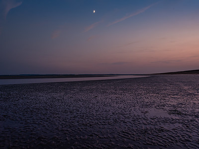 """Hayling Beach, After Dark"""