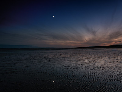 """Hayling Beach, After Dark #1"
