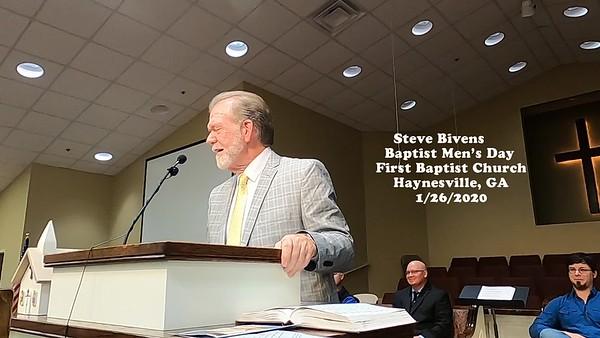 Steve Bevan, FBC Haynesville
