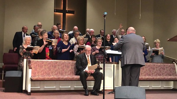 "Video of Choir singing ""I Stand Upon the Rock"""