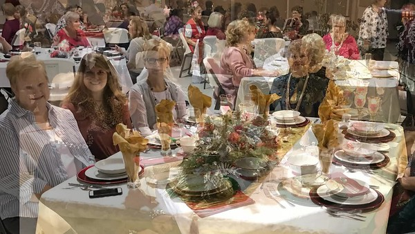 The Ladies of Haynesville First Baptist Church present the Lottie Moon Christmas Offering Show and Dinner