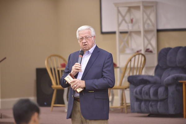 Senior Pastor David Fisher