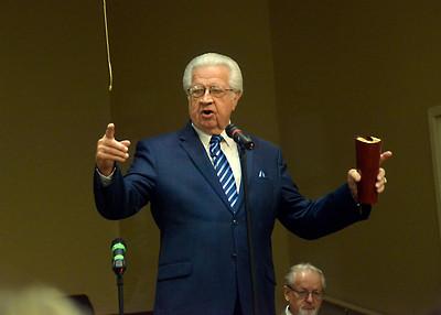 Senior Pastor David Fisher