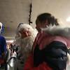Blue Santa Kyle 2017 distribution day pics
