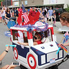 Red, White and Buda parade in downtown Buda 2017