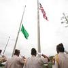 Memorial Day ceremony at Cabela's in Buda