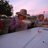 Kyle Pie eating contest at the Train Depot