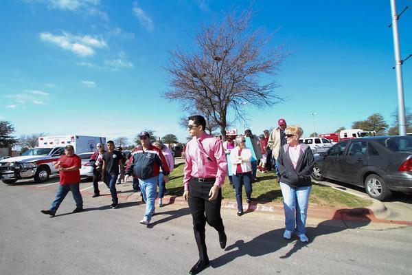 Procession for Samantha Dean