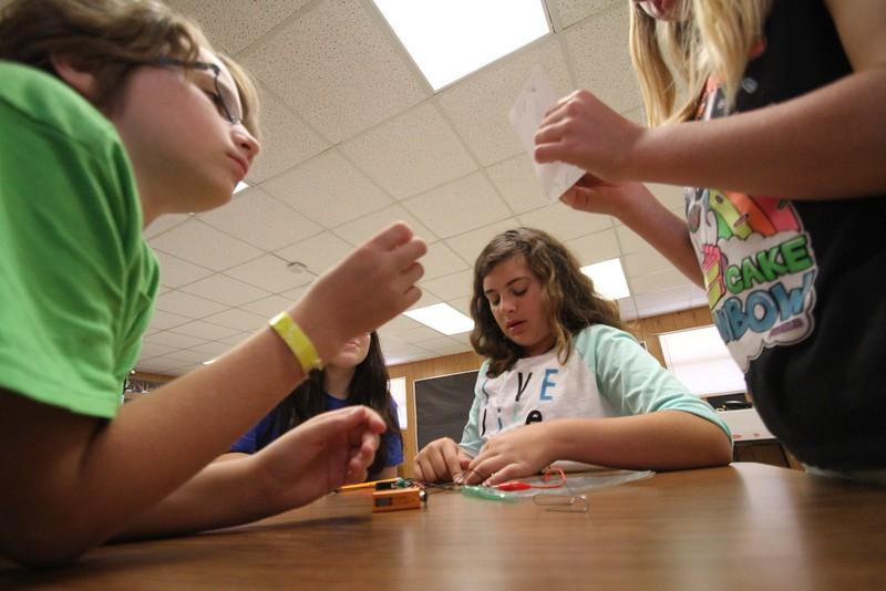 Girls Start at Fuentes Elementary