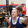 Hays, Lehman and Dripping Springs at the Hays Rebel powerlifting meet