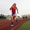 Images from the area track and field meet at Marble Falls High School
