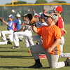 Lehman Lobo baseball camp at Lobo Field