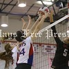 Hays volleyball beats Lake Travis in 5 to close regular season