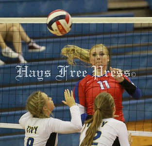 Hays Lady Rebels Volleyball