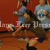 Hays Rebel VB camp at Hays High