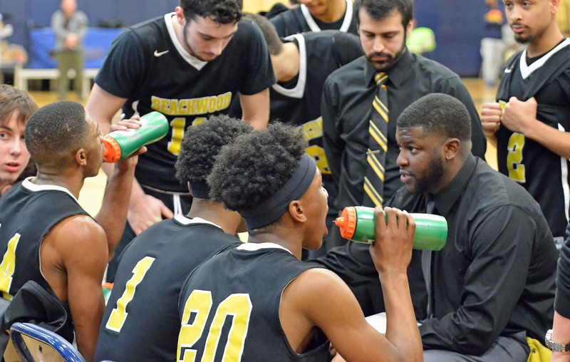 Paul DiCicco - The News-Herald<br /> Photos from Beachwood's Garfield Heights District final against Lutheran East March 9. Lutheran East won, 72-62.