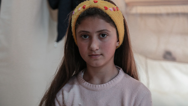 Noor, 12, Iraq