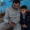 Osama, 9, and Mohammed, 49, Jordan