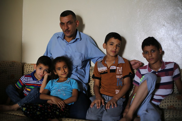 Ameen and his children