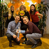 It's official! Jennifer Hunt, Benedicte Giæver, Joanna Tong, Andrew Garney. Photo: NRC/Ingebjørg Kårstad