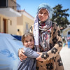 Fatima has fled from Deir ez-Zor in Syria together with her family. They are now at Chios in Greece. Photo: Tiril Skarstein, NRC<br /> <br /> Quotes from Fatima:<br /> -We were attacked from all sides, both the armed groups and the government.<br /> -We left from Syria for a better life, but here it is very difficult. It is very stressful. <br /> -The police cannot guarantee the security in Vial. We did not feel safe there.<br /> -We left from Syria to find peace, and then we were placed in a closed detention facility. <br /> -Europe need to open their borders. We have nothing here. <br /> -It is a very bad situation here. <br /> -We are Syrians, we only want to be able to continue our lives. <br /> -There is nothing here. Look around you. <br /> -I have been here 20 days and we do not know for how long we need to continue to stay here. <br /> -We want to go to Germany. <br /> -Europe need to open their borders. We are in danger back in Syria. Please open the borders. Please let us continue our lives.