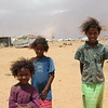 3 sisters: Assiya (8), Walletsali (6) and Ahmaydi Bouchra (3)