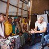"""""""We have nothing left,"""" many of the displaced women Secretary General Jan Egeland met with said. They currently live in dire conditions in the Kera displacement site in Dilla Town, Hawasa. <br /> <br /> Photo: Becky Bakr Abdulla/NRC"""