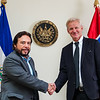 Meeting with the Vice-President of El Salvador