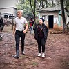 Secretary General Jan Egeland visits NRC's water pipelines, pumps and generators that provide clean water to internally displaced people residing in the Kera site in Dilla Town, Hawasa. <br /> <br /> Photo: Becky Bakr Abdulla/NRC