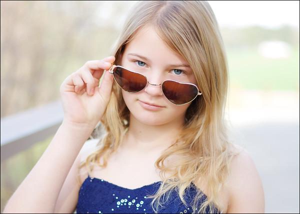 Kayla 13 years old