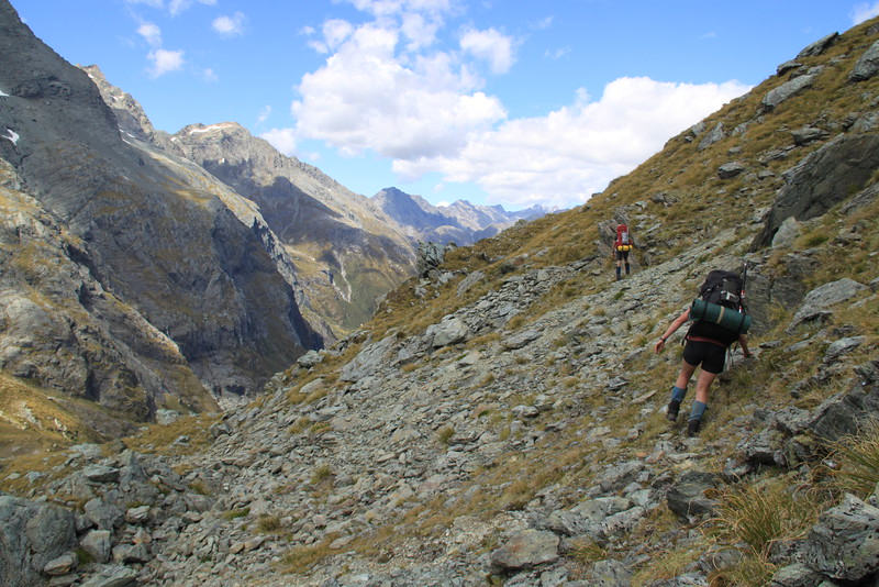 North Routeburn - Serpentine Range - Lake Wilson Traverse